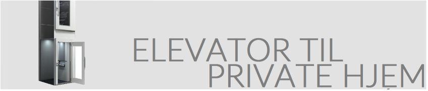 Elevator til private hjem