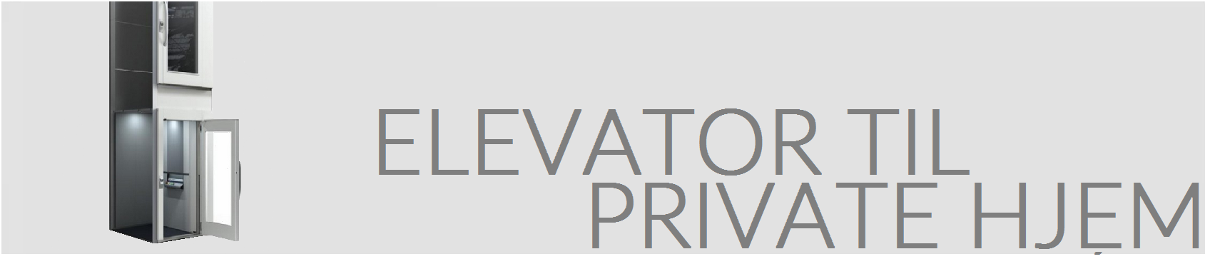 Elevator til private hjem