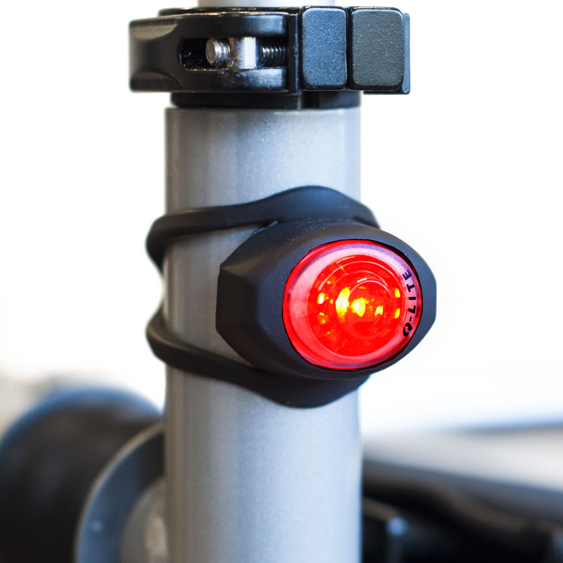 Image of   LED-lygter (røde) til Trionic Veloped rollator