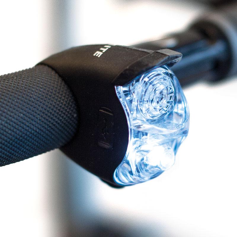 Billede af LED-lygte (hvid) til Trionic Veloped Rollator