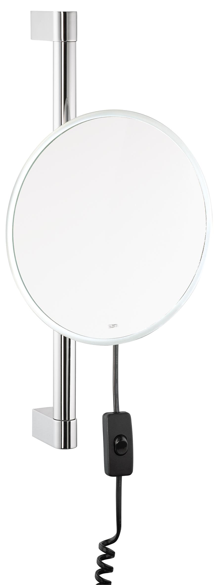 Tilbud på Sam Miro kosmetikspejl med LED lys på højderegulerbar stang