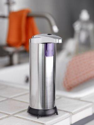 Billede af No touch sæbedispenser (Steel-Function) med bevægelsessensor
