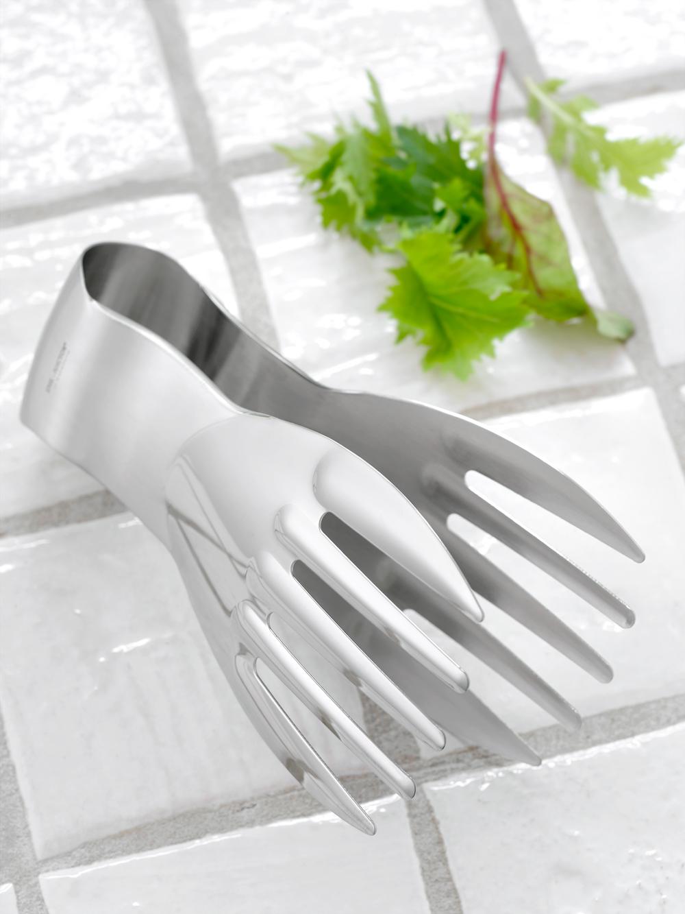 Billede af Stor salathånd (Steel-Function) 18 cm