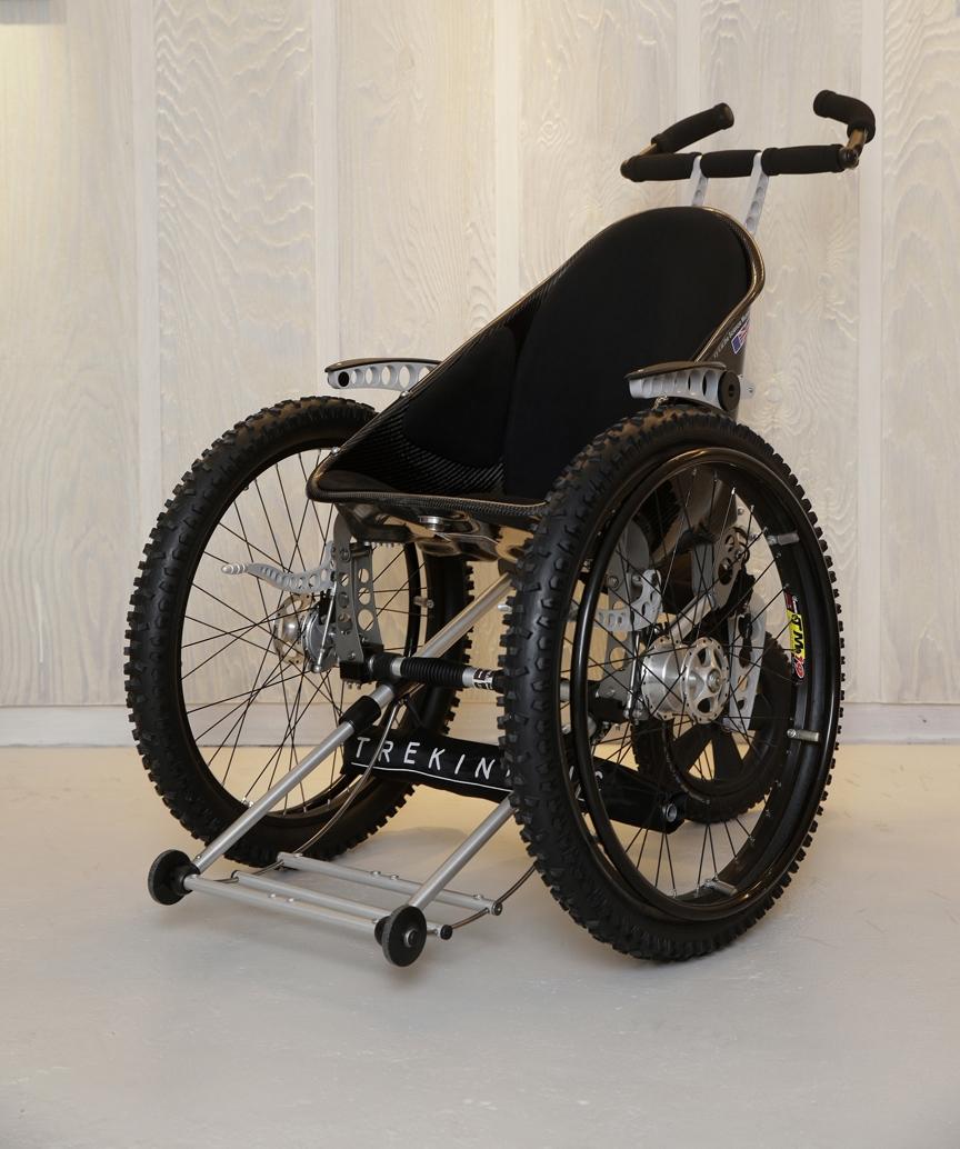 Tilbud på DEMO-MODEL: Trekinetic K-2 All-Terrain Kørestol