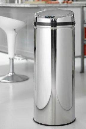 Billede af No touch affaldsspand Rimini 50 liter (Steel-Function) med bevægelsessensor