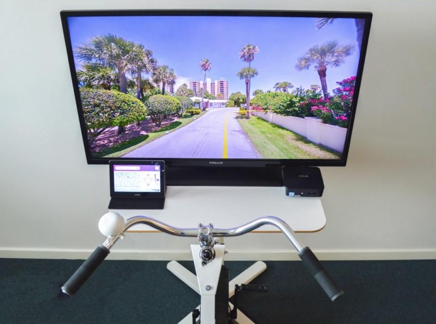 Image of   DEMO-MODEL: BikeAround Screen Aktivitetscykel