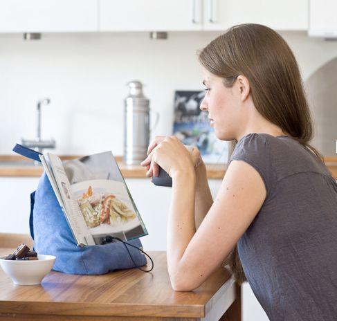 Image of   Book Seat - den praktiske støtte til bøger eller tablets (BookSeat)