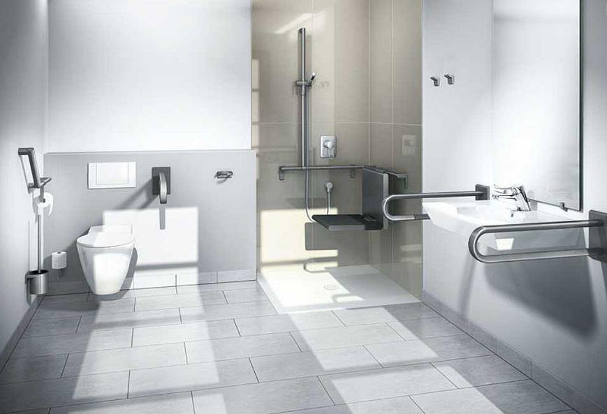 Image of   Cavere - Toiletstøtte (støttegreb, gribebøjle)