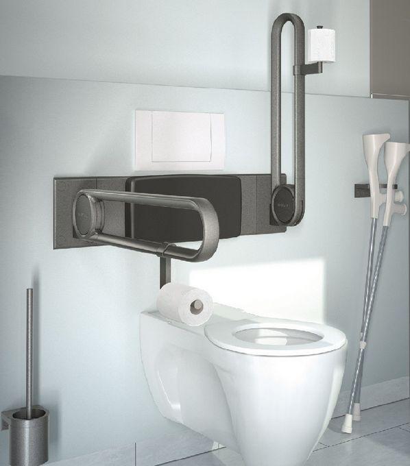 Image of   Cavere Toiletpapirholder til toiletstøtte