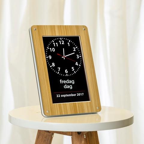 Image of   Demenskalender og -ur - Clockaid Core Demens Kalender med oplæsning