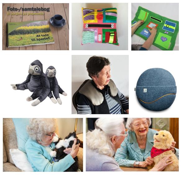 Image of   Hjælpemidler til Demens - Stor Pakke