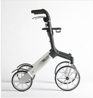 Image of   TrustCare Udendørs Rollator - Lets Go Out Rollator