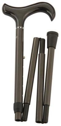 Image of   Foldbar stok i kulfiber fra Gastrock