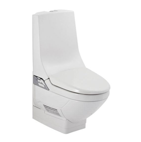Geberit AquaClean 8000 AP plus gulvstående toilet med automatisk vask og tørring