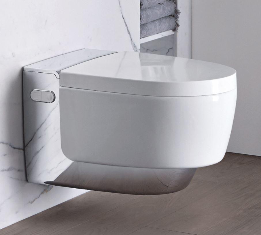 Geberit AquaClean Mera Comfort Skylle- og Tørretoilet (væghængt)