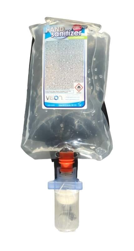 Håndspritgel 85 % 650 ml til Berøringsfri Dispenser (professionelle miljøer)
