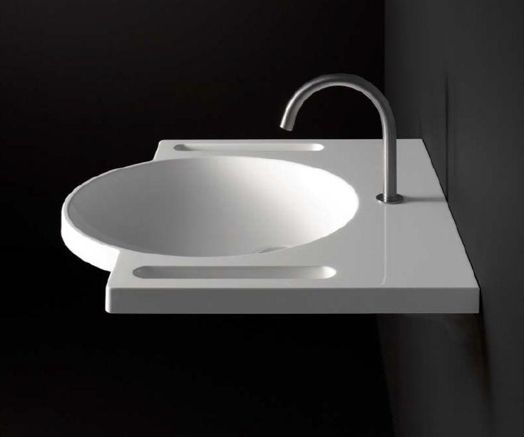Billede af HEWI håndvask med greb i siden