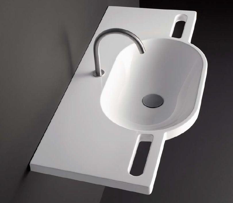 HEWI håndvask med greb i front