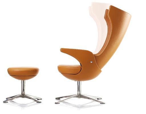 Tilbud på Fodskammel til i-SIT hvilestol i flot design