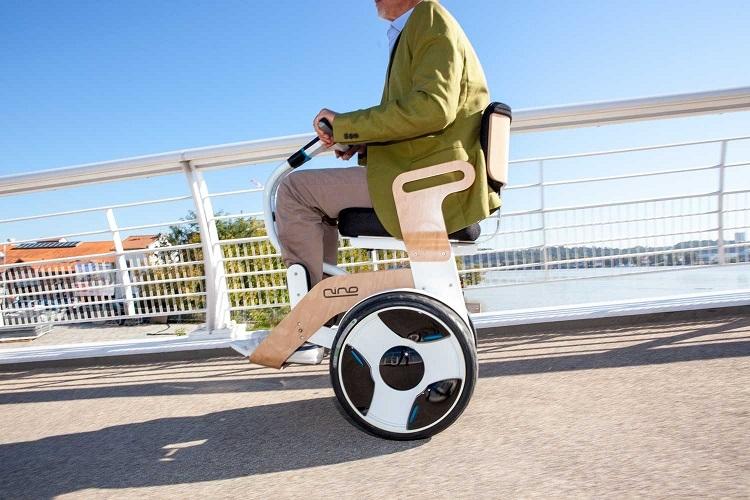 Billede af Nino Robotics Elektrisk Kørestol
