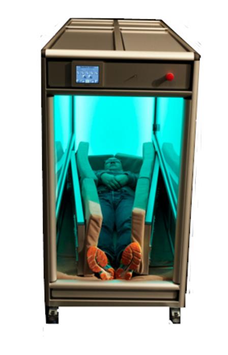 Billede af OrbisBox - en unik krammekasse med lysterapi og lydanlæg