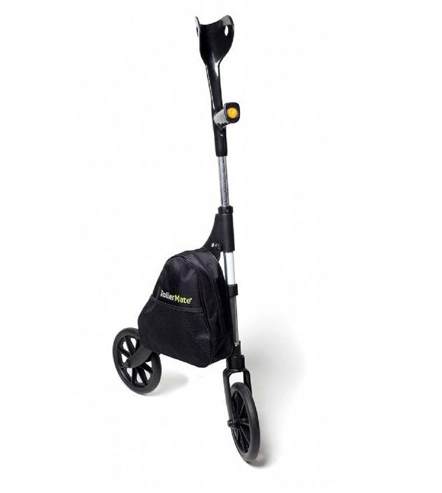 Tilbud på RollerMate G2 Basic – albuestok med 2 hjul og taske