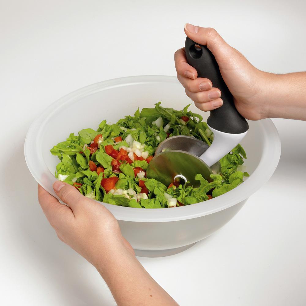 Billede af OXO Good Grips salatskærer med skål