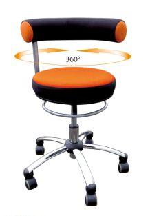 Tilbud på Sanus Sundhedsstol – ergonomisk stol til vuggestuepersonale m.v. (arbejdsstol)