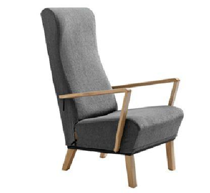 Seat Up - klassisk lænestol med god siddekomfort og mekanisk sædeløft (SeatUp)
