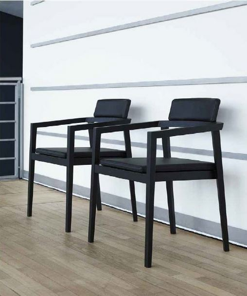 Session stol - ergonomisk spisestue-, møde- eller hvilestol (Session Relax)