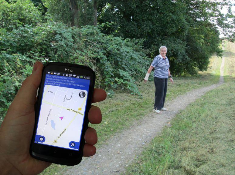 Billede af GPS Care Tracker til sporing af f.eks. demente personer