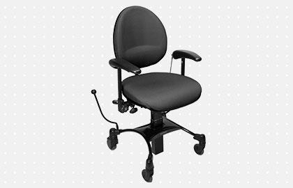Vela Tango 200 El - Arbejdsstol med elektrisk højdejustering