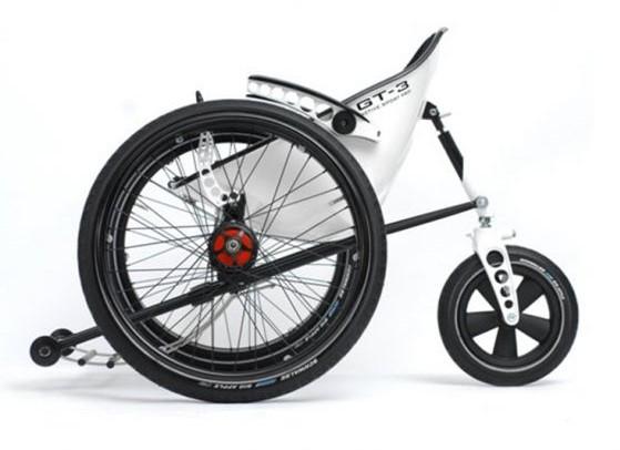 Trekinetic GT-3 Kørestol (GT3) - sammenklappelig