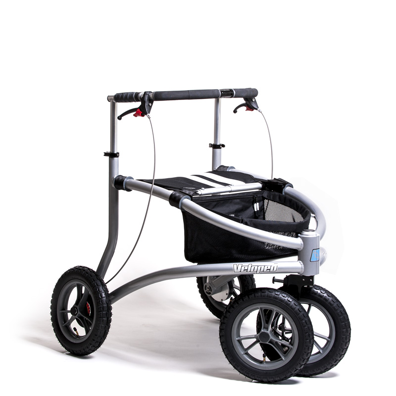 Terrængående Trionic Veloped Off-road rollator 12er