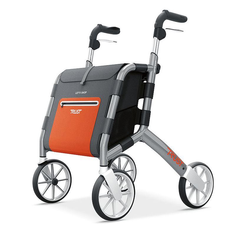 TrustCare Lets Shop Udendørs Rollator