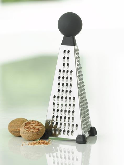 Billede af Råkostjern (rivejern) med ergonomisk håndtag i toppen