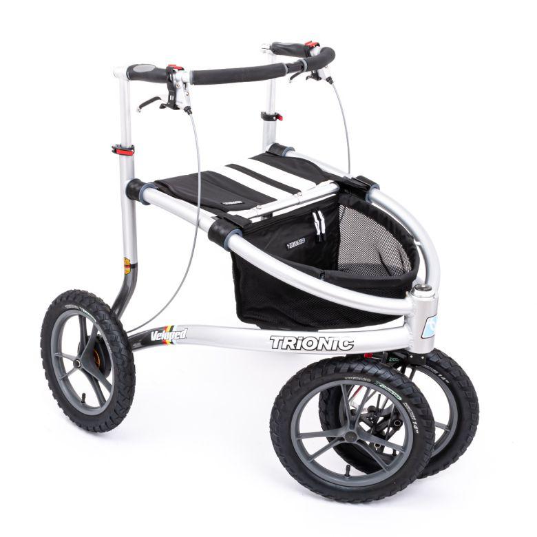 Udendørs rollator med store hjul - Trionic Veloped 14