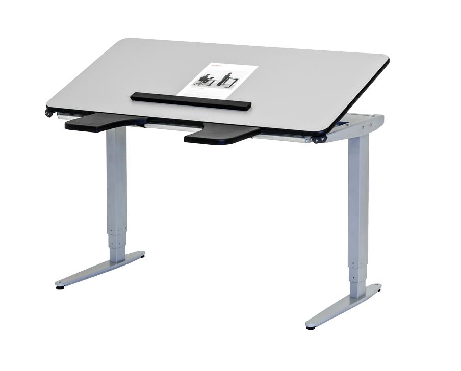 Tilbud på High & Low Elektrisk Hæve-/sænkebord (ROPOX)