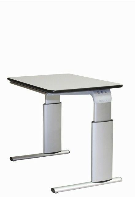 Tilbud på ROPOX Vision hæve-/sænkebord 90 x 60 cm bordplade manuel højdejustering