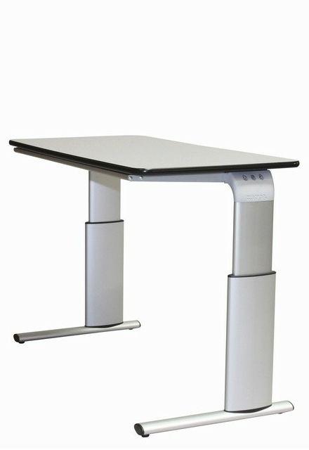 Tilbud på ROPOX Vision hæve-/sænkebord 120 x 60 cm bordplade manuel højdejustering
