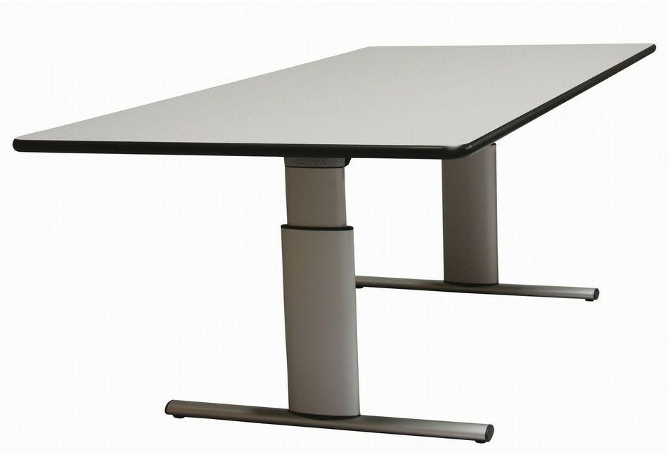 Tilbud på ROPOX Vision hæve-/sænkebord 240 x 100 cm bordplade manuel højdejustering