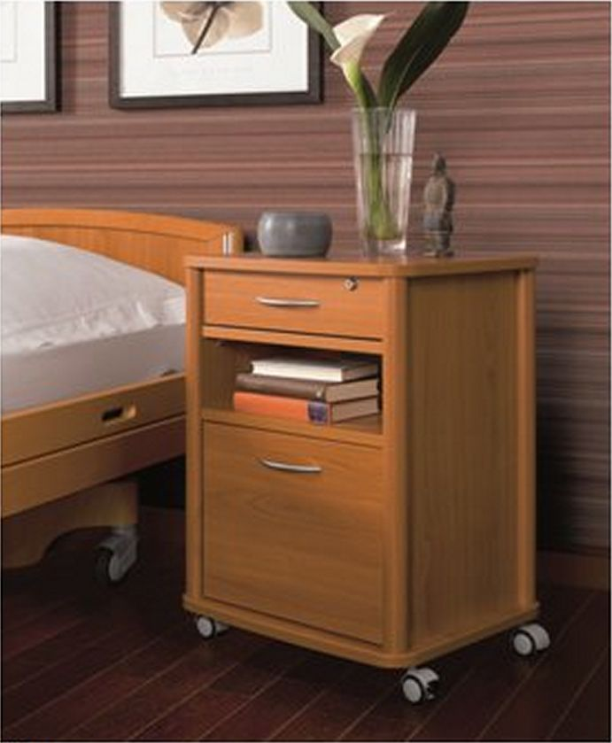 Vivo sengebord med praktiske funktioner