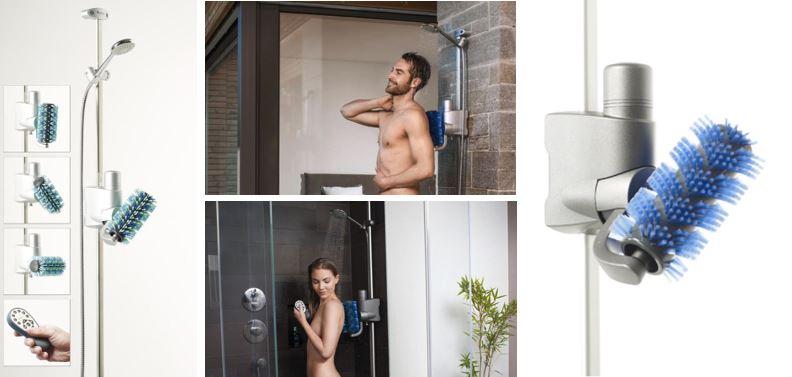 Aglaja Automatisk Badebørste - til wellness og til nedsat håndfunktion